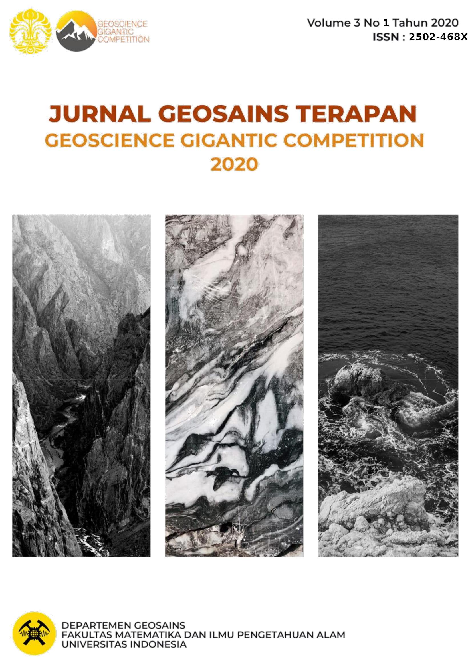 Lihat Vol 3 No 1 (2020): Jurnal Geosains Terapan